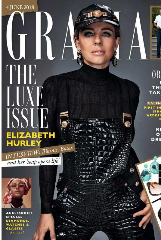 ELIZABETH HURLEY in Grazia Magazine, June 2018