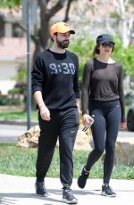 ELIZABETH OLSEN Leaves a Gym in Los Angeles 05/03/2018