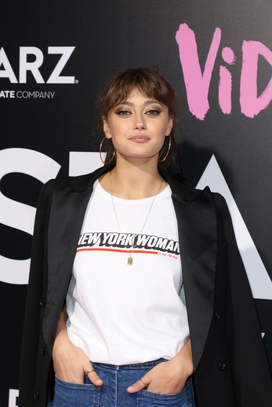 ELLA PURNELL at Vida Premiere in Los Angeles 05/01/2018