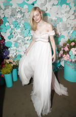 ELLE FANNING at Tiffany & Co. Jewelry Collection Launch in New York 05/03/2018