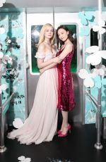 ELLE FANNING at Tiffany Paper Flowers Event in New York 05/03/2018