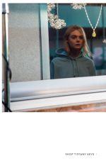 ELLE FANNING for Tiffany & Co Paper Flowers / Believe in Dreams Campaign 2018