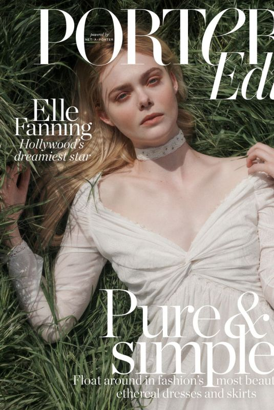 ELLE FANNING in Porter Edit Magazine, May 2018