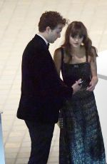 ELLE PURNELL and James Coates Leaves Bafta Awards in London 05/13/2018