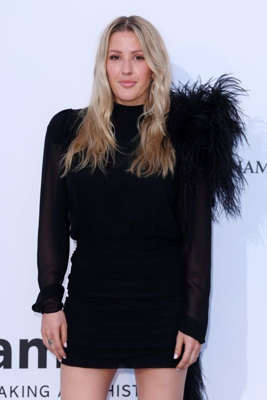 ELLIE GOULDING at Amfar