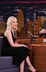 EMILI CLARKE at Tonight Show Starring Jimmy Fallon in New York 05/21/2018