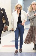 EMILIA CLARKE Arrives at JFK Airport in New York 05/05/2018