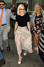 EMILIA CLARKE Arrives at Sirius Radio in New York 05/21/2018