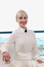 EMILIA CLARKE at Kering Women in Motion Photocall at 71st Annual Cannes Film Festival 05/15/2018