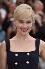 EMILIA CLARKE at Solo: A Star Wars Story Photocall at 71st at Cannes Film Festival 05/15/2018