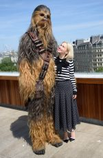 EMILIA CLARKE at Solo: A Star Wars Story Photocall in London 05/18/2018