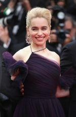 EMILIA CLARKE at Solo: A Star Wars Story Premiere at Cannes Film Festival 05/15/2018