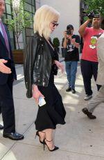 EMILIA CLARKE Heading to Nnight Show in New York 05/21/2018