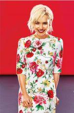 EMILIA CLARKE in Mujer Hoy Magazine, May 2018 Issue