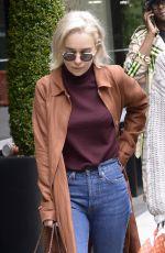 EMILIA CLARKE Leaves Mark Hotel in New York 05/06/2018