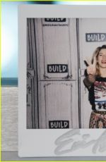 EMILY BETT RICKARDS at Build Series in New York 05/21/2018
