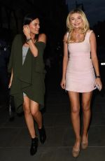 EMILY BLACKWELL and GEORGIA TOFFOLO Night Out in London 05/22/2018
