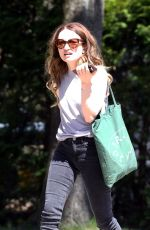 EMILY BROWNING Out and About in Toronto 05/08/2018