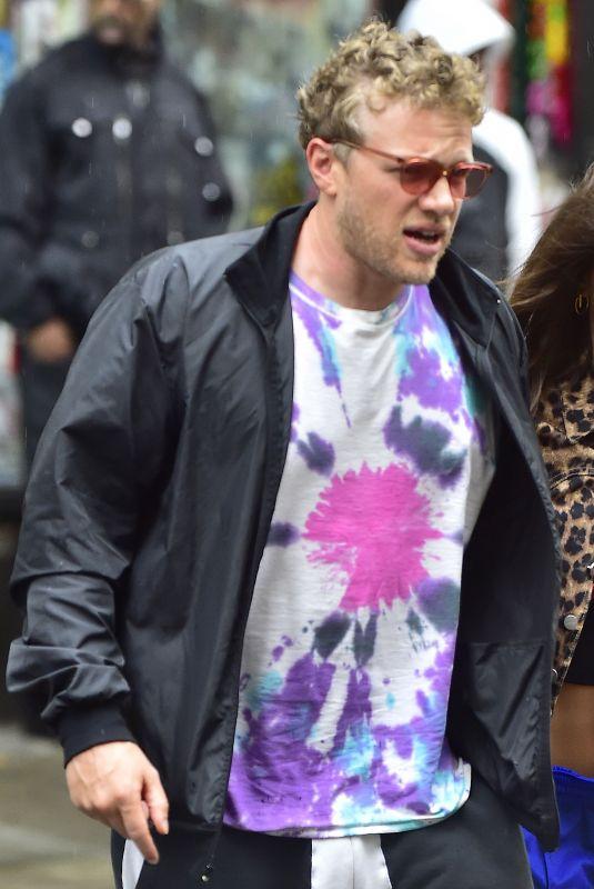 EMILY RATAJKOWSKI and Sebastian Bear-McClard Out in New York 04/27/2018