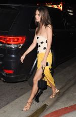 EMILY RATAJKOWSKI at In Darkness After-party in Los Angeles 05/23/2018