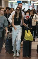 EMILY RATAJKOWSKI at Roissy Charles De Gaulle Airport in Paris 05/28/2018