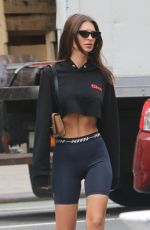 EMILY RATAJKOWSKI in Tights Out in New York 05/10/2018