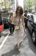 EMILY RATAJKOWSKI Out for Lunch in New York 05/07/2018