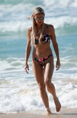 EMMA HARRISON in Bikinis at a Beach in Gold Coast 05/23/2018