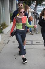 EMMA KENNEY Out and About in Los Angeles 05/14/2018