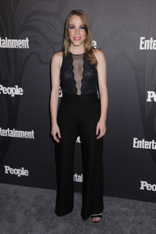 EMMA MYLES at EW & People New York Upfronts Celebration 05/14/2018