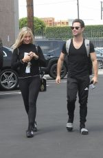 EMMA SLATER Arrives at DWTS Studioin Los Angeles 05/17/2018