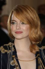 EMMA STONE at MET Gala 2018 in New York 05/07/2018