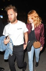 EMMA STONE Night Out in New York 05/06/2018