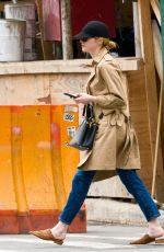 EMMA STONE Out and About in New York 05/04/2018