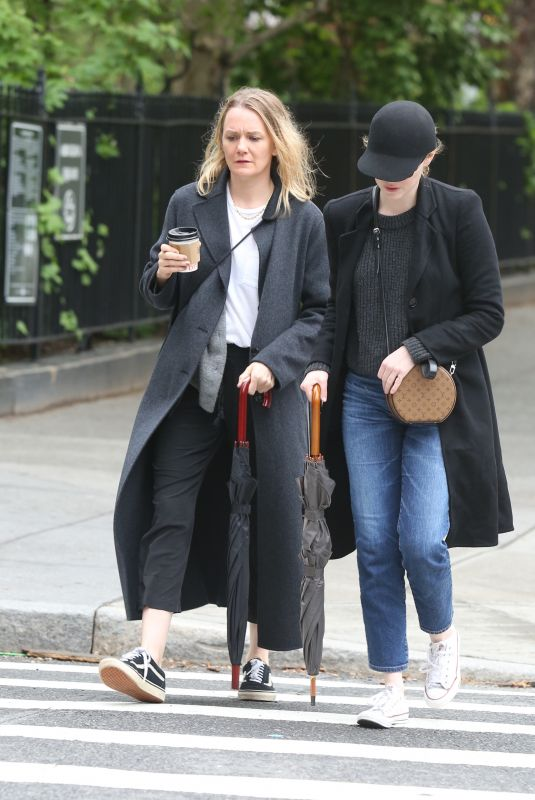 EMMA STONE Out with a Friend in New York 05/13/2018