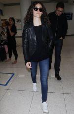 EMMY ROSSUM Arrives at Los Angeles International Airport 05/29/2018