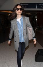 EMMY ROSSUM at Los Angeles International Airport 05/08/2018