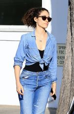 EMMY ROSSUM Out and About in West Hollywood 05/17/2018