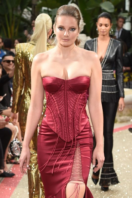 ENIKO MIHALIK at Philipp Plein Resort Runway Show in Cannes 05/16/2018