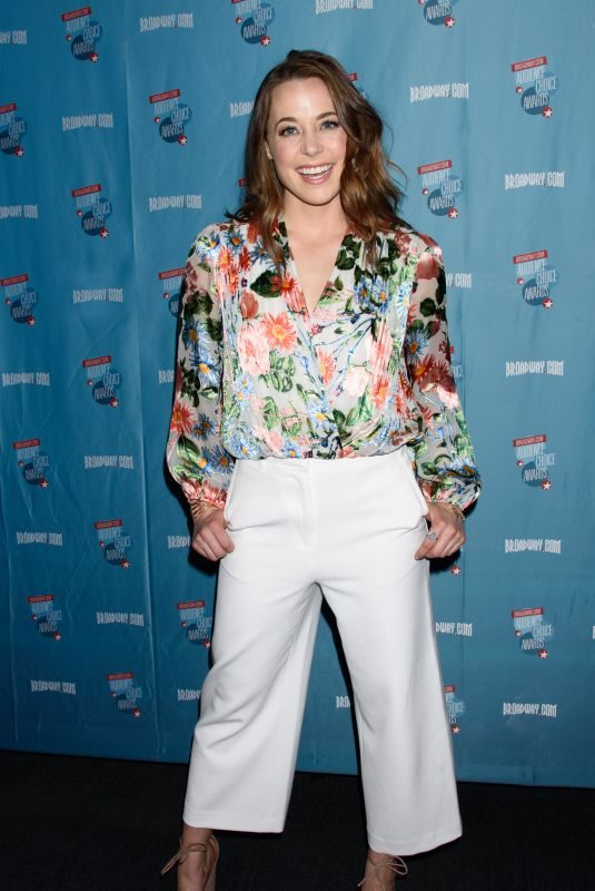 ERIKA HENNIGENSEN at broadway.com Audience Choice Awards Winners Cocktail Party in New York 05/24/2018