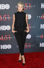ERIN RICHARDS at Fahrenheit 451 Premiere in New York 05/08/2018