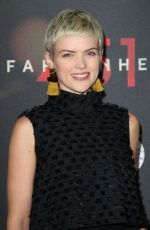 ERIN RICHARDS at Fahrenheit 451 Premiere in New York 05/08/2018