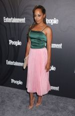 ESSENCE ATKINS at EW & People New York Upfronts Celebration 05/14/2018