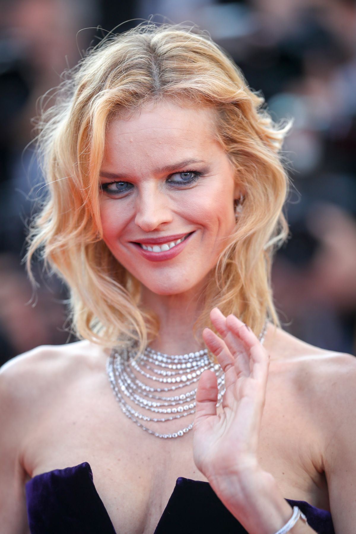 EVA HERZIGOVA at Ash is Purest White Premiere at Cannes Film
