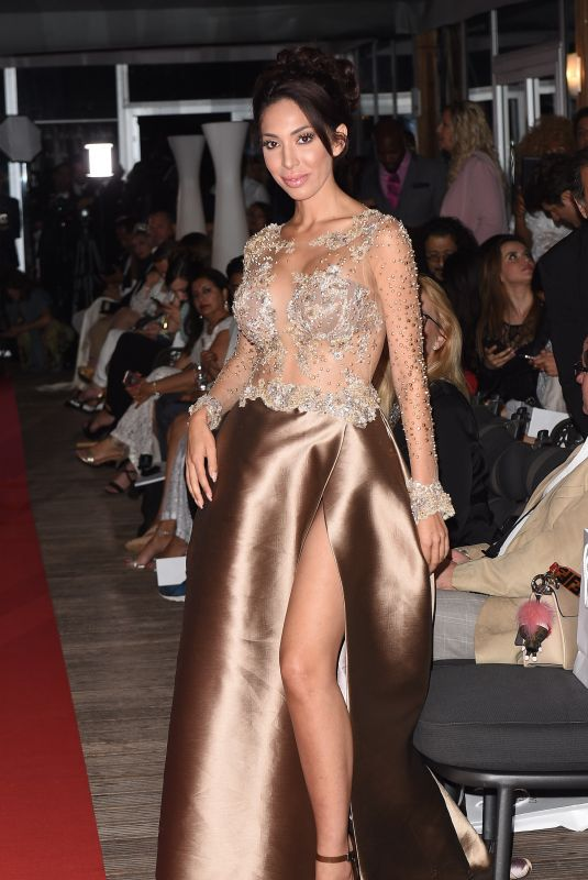 FARRAH ABRAHAM at a Fashion Show in Cannes 05/14/2018