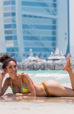 FARRAH ABRAHAM in Bikini at a Beach in Dubai 05/25/2018