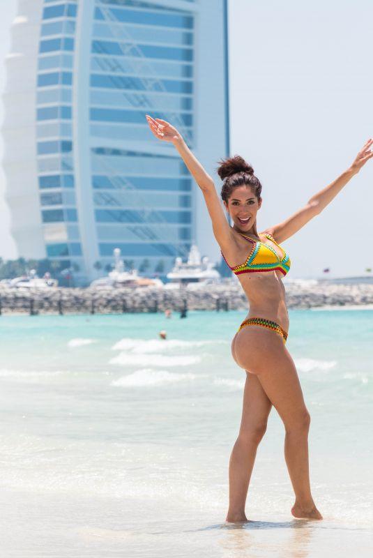 FARRAH ABRAHAM in Bikini at a Beach in Dubai 05/25/2018