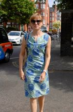 FIONA BRUCE at Chelsea Flower Show in London 05/21/2018