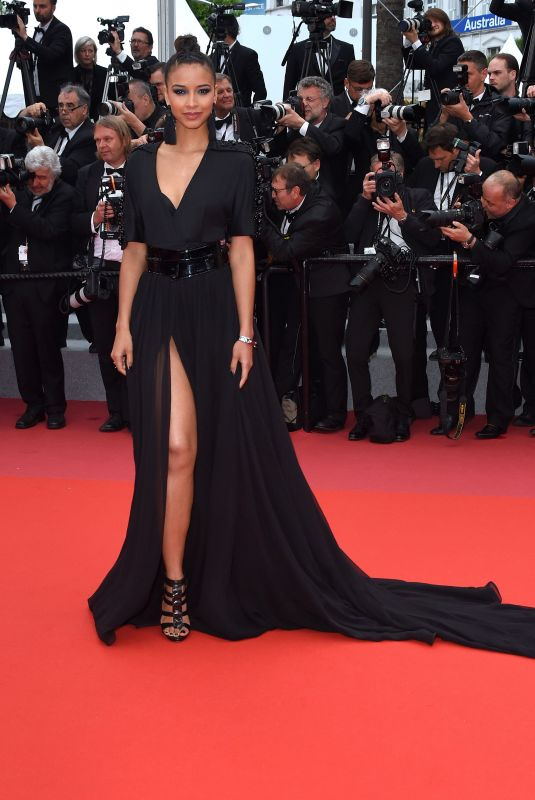 FLORA COQUEREL at Blackkklansman Premiere at Cannes Film Festival 05/14/2018