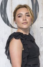 FLORENCE PUGH at Christian Dior Couture Cruise Collection Photocall in Paris 05/25/2018